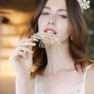 GRZEBYK ślubny do włosów Odcienie Złota (142)