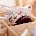 PODZIĘKOWANIE dla Rodziców ślub w skrzyni Z konfiturami EKO Z IMIONAMI