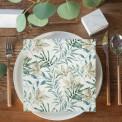 SERWETKI na wesele papierowe Botaniczne 33x33cm 20szt