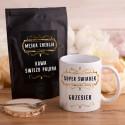 KUBEK dla Świadka + kawa 50g Z IMIENIEM Super Świadek