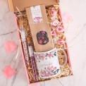 PREZENT dla Świadkowej Box Z IMIENIEM Kubek i herbata MAŁY