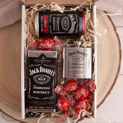PODZIĘKOWANIE dla Świadka pudełko Z IMIENIEM Czekolada z whiskey