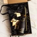 PROŚBA o Świadkowanie pudełko Z IMIENIEM Z winem Cava LUX