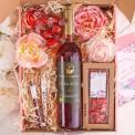 PREZENT na Rocznicę Ślubu Z IMIENIEM Wino i czekolada MEGA DUŻY