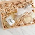 PODZIĘKOWANIE dla Świadka/Świadkowej Prosecco kryształowe w skrzyni LUX