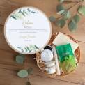 PREZENT na Panieński Box Z IMIENIEM Eukaliptusowe Odprężenie