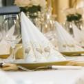 SERWETKI flizelinowe Duni Kolekcja Ślubna 50szt PROMOCJA