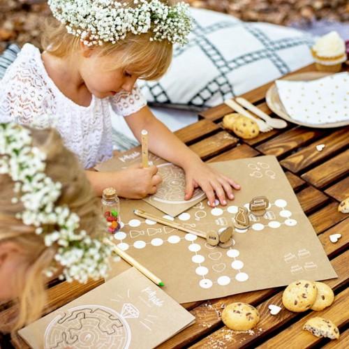 GRY dla dzieci na wesele Zestaw