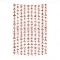 ŚCIANKA za Parą Młodą girlanda na tło KWIATY rosegold 100x210cm