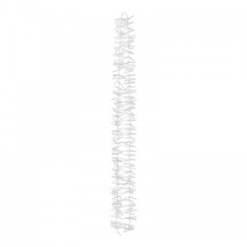 ŚCIANKA za Parą Młodą girlanda na tło Białe Kwiaty 180cm