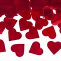 KONFETTI Wystrzałowe Czerwone Serca 60cm
