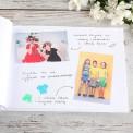 KSIĘGA Wspomnień dla Rodziców Srebrno-Złoty Ślub (+wstążka złota)