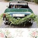 TABLICE rejestracyjne ślub Z NADRUKIEM Pudrowe Kwiaty
