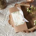 PUDEŁKO na czekoladę Z IMIONAMI Białe Kwiaty