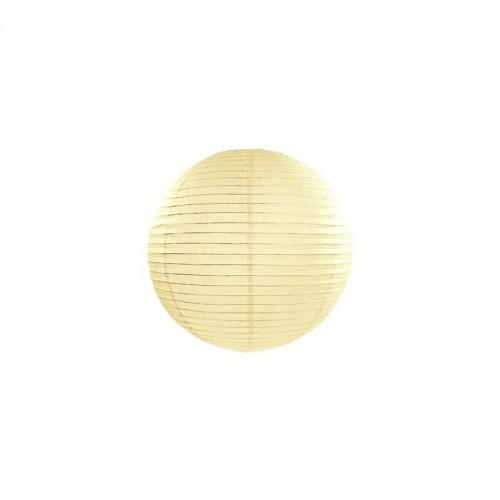 KULA papierowa lampion 25cm KREMOWA