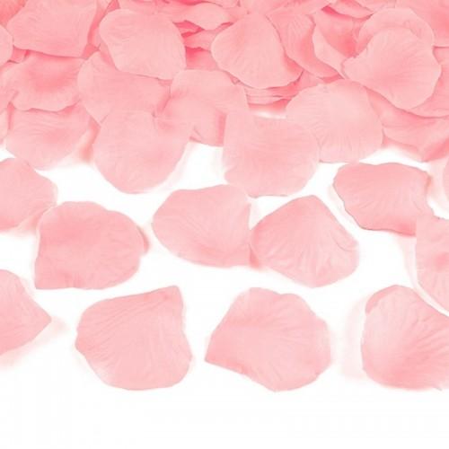 PŁATKI róż do sypania 500szt JASNORÓŻOWE