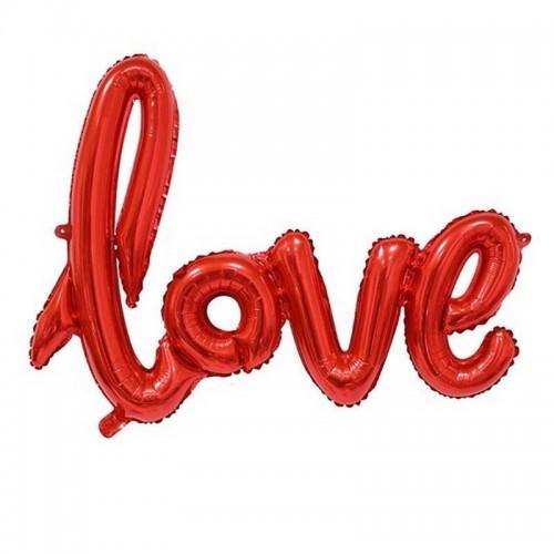 BALONY foliowe LOVE czerwone 65x98cm