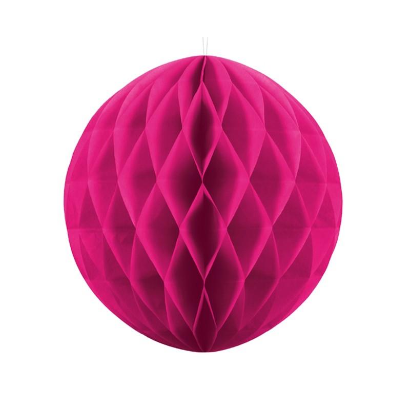 KULA bibułowa plaster miodu BŁĘKITNA 30cm