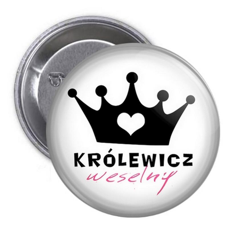 PRZYPINKA kotylion dla gości Królewicz Weselny (41)