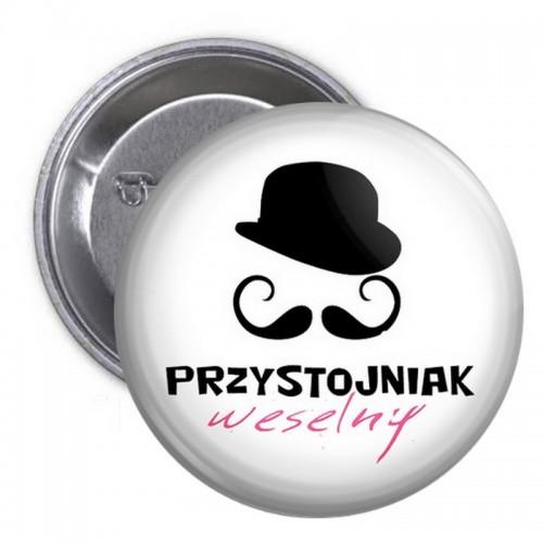 PRZYPINKA kotylion dla gości Przystojniak Weselny (43)