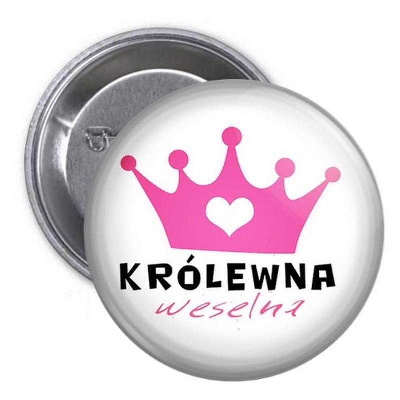 PRZYPINKA kotylion dla gości Królewna Weselna (44)