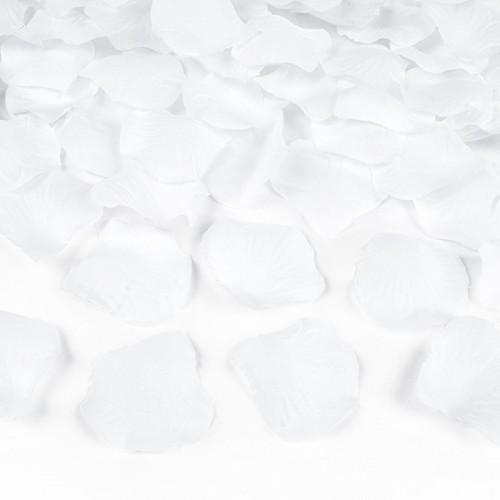 KONFETTI WYSTRZAŁOWE Białe Płatki MEGA TUBA 60cm!!