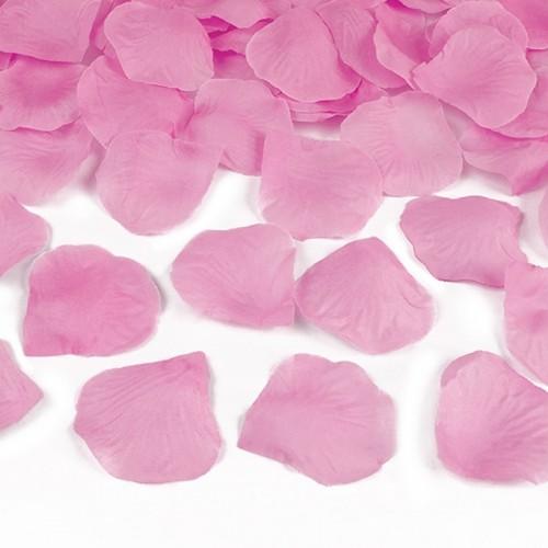 KONFETTI WYSTRZAŁOWE Różowe Płatki MEGA TUBA 60cm