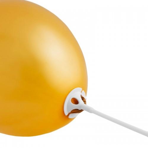 PATYCZKI i ZATYCZKI do balonów 10szt KOMPLET