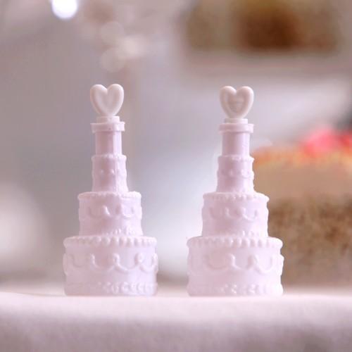 BAŃKI mydlane Ślubny Tort