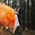FONTANNA dymna na ślub 4 KOLORY