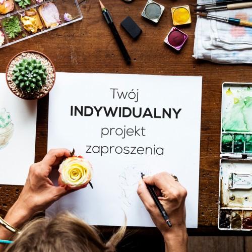 PROJEKT zaproszenia indywidualny wzór