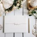 KSIĘGA GOŚCI weselnych z napisem Love