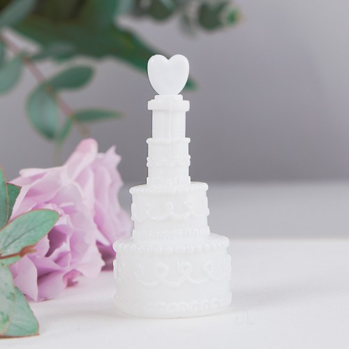BAŃKI mydlane Ślubny Tort 4szt