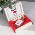 PREZENT dla Świadkowej w drewnianym pudełku KACÓWKA