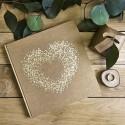 KSIĘGA GOŚCI weselnych Ażurowe Serce