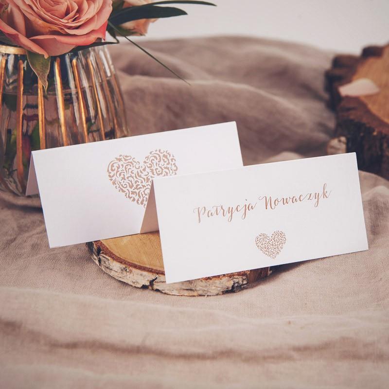 WINIETKA ślubna Czekoladowe LOVE