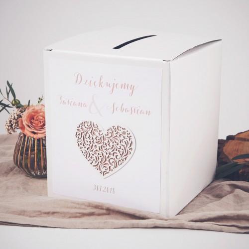 PUDŁO na koperty z personalizacją Czekoladowe LOVE