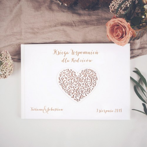 KSIĘGA Wspomnień dla Rodziców Czekoladowe LOVE