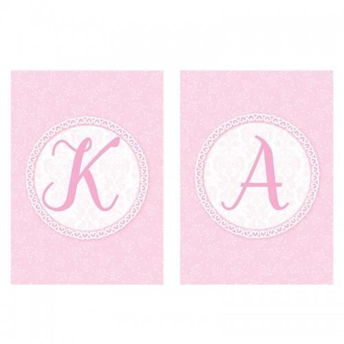 LITERA do baneru RÓŻOWA: Stwórz swój napis!