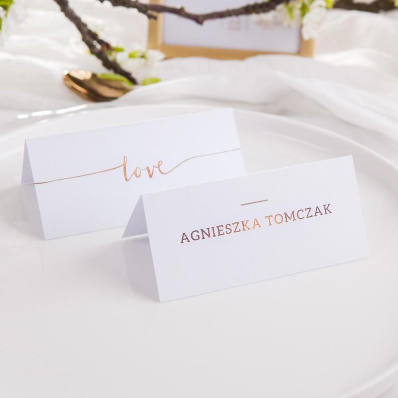 WINIETKA ślubna personalizowana Love