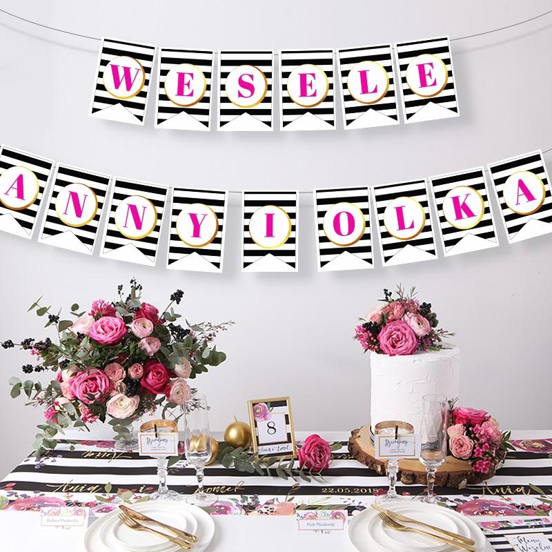 LITERA do baneru personalizowanego Flowers&Stripes Stwórz swój napis!