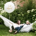 BALON pastelowy gigant 1m Just Married