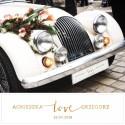 TABLICA rejestracyjna personalizowana Kolekcja Love