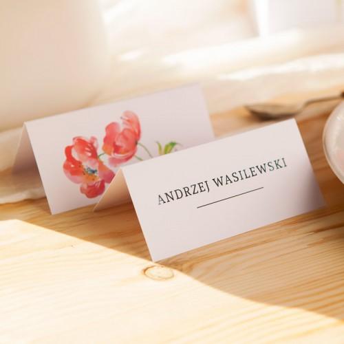 WINIETKA ślubna z nadrukiem Kwiaty Lata
