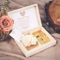 PODZIĘKOWANIE dla Mamy w drewnianym pudełku Czekoladowe LOVE