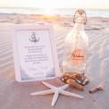 KSIĘGA GOŚCI weselnych List w butelce z etykietą DUŻA BUTELKA MEGA ZESTAW