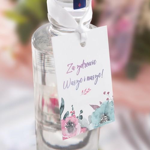ZAWIESZKI na alkohol Pink&Blue 20szt