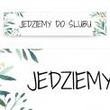 TABLICA rejestracyjna personalizowana Kolekcja Greenery