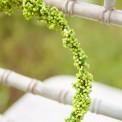 WIANUSZEK dekoracyjny Zielone Kuleczki DUŻY 20cm