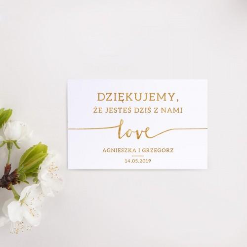 BILECIK personalizowany Kolekcja Love